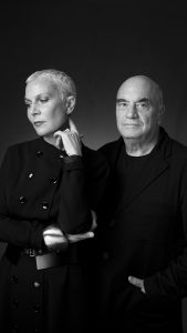 Doriana and Massimiliano Fuksas