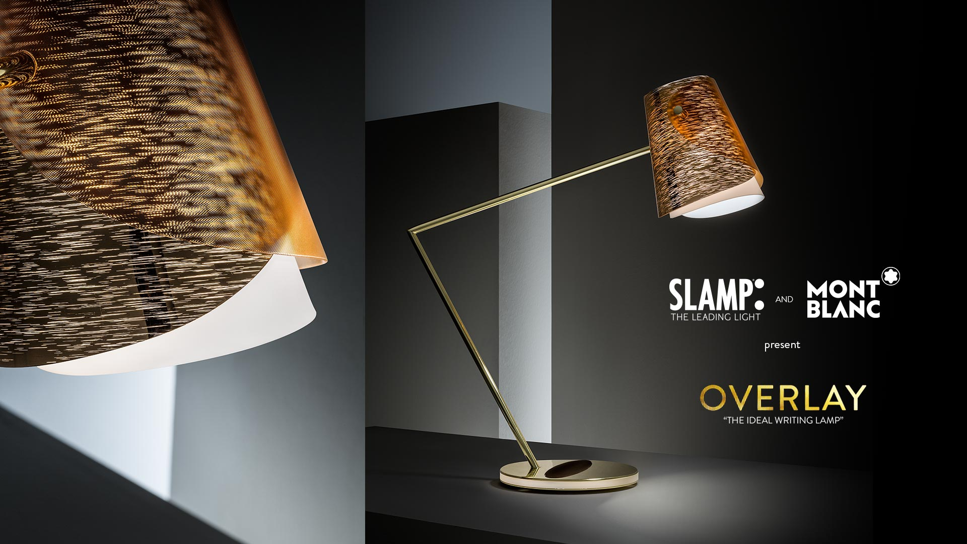Slamp And Montblanc Present Overlay, U201cthe Perfect Writing Lampu201d