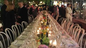 The Dinner for 100, La Galleria Rossana Orlandi