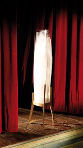 battista floor lamp on stage