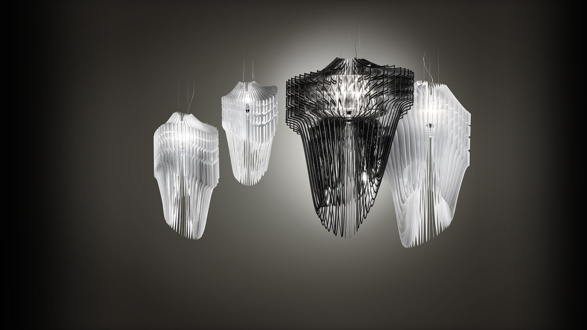 Slamp avia suspension by zaha hadid products suspension lamps mozeypictures Choice Image