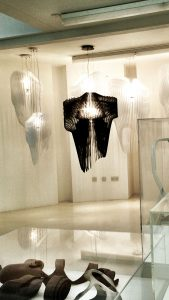 aria and avia lamps by zaha hadid
