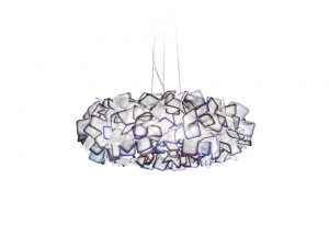 clizia suspension lamp purple large size