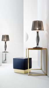 liza pewter table lamp lamp in a modern house