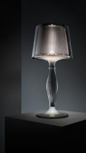 liza pewter table lamp