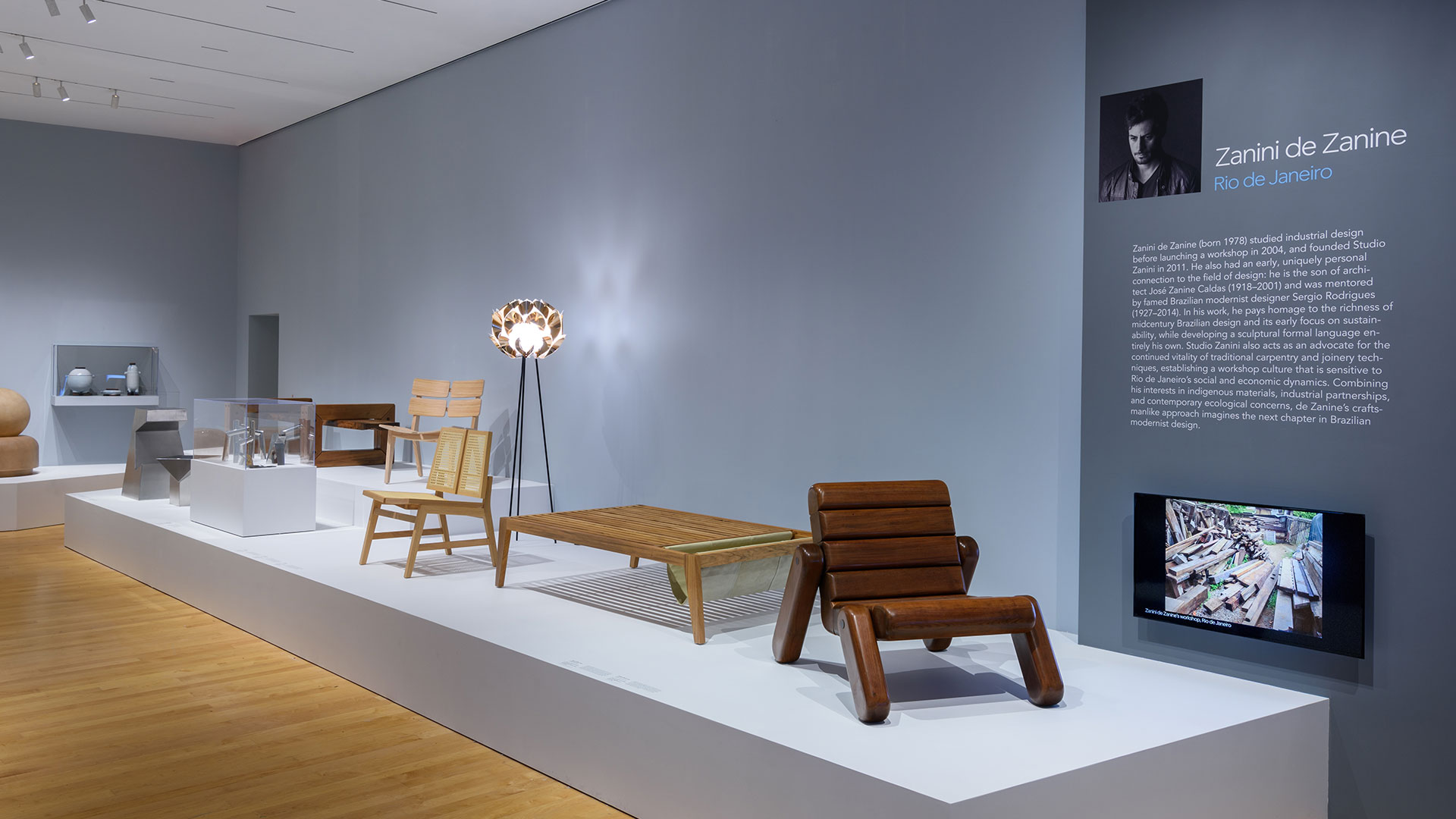 Slamp Collection On Display At Philadelphia Museum Of Art