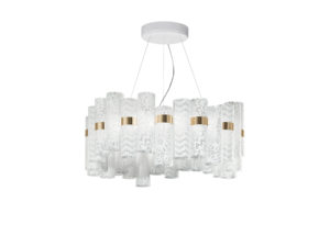 la lollo lace l suspension lamp still life image