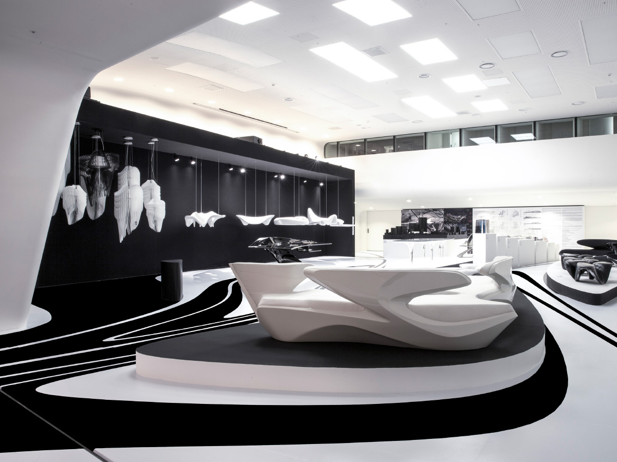 aria and avia by zaha hadid at the Dongdaemun Design Plaza