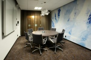 etoile suspension setted ina aconference room in clarion hotel sense