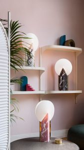 moon lamp collection on envelops