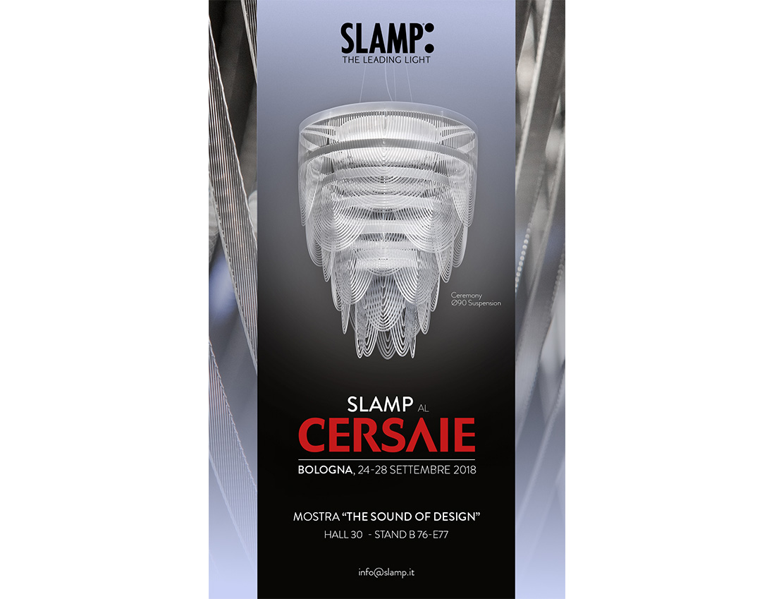 slamp cersaie invitation