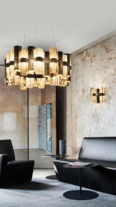la lollo gold l suspension and applique lamps mobile slider image