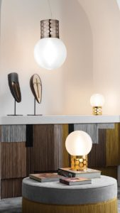atmosfera pewter suspension and gold table medium and small mobile slider image