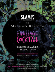 slamp news finissage rebecchi invitation mobile image