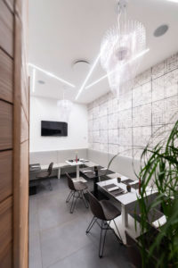 slamp contract la kucina with aria transparent gallery image