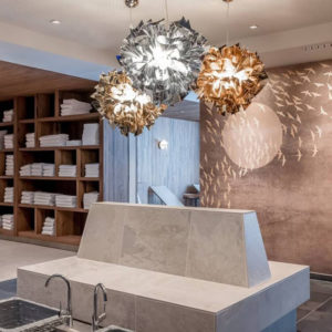 veli gold, silver and copper suspension yourslamp thumbnail image